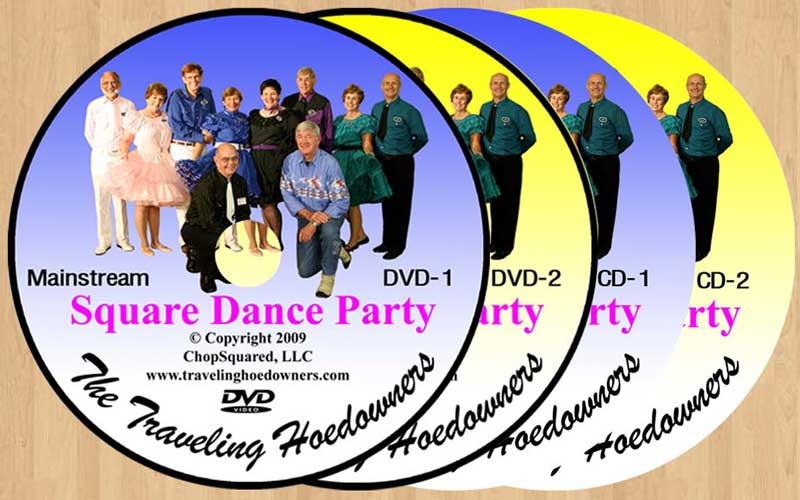 Traveling Hoedowners' Square Dance Party DVDs & CDs