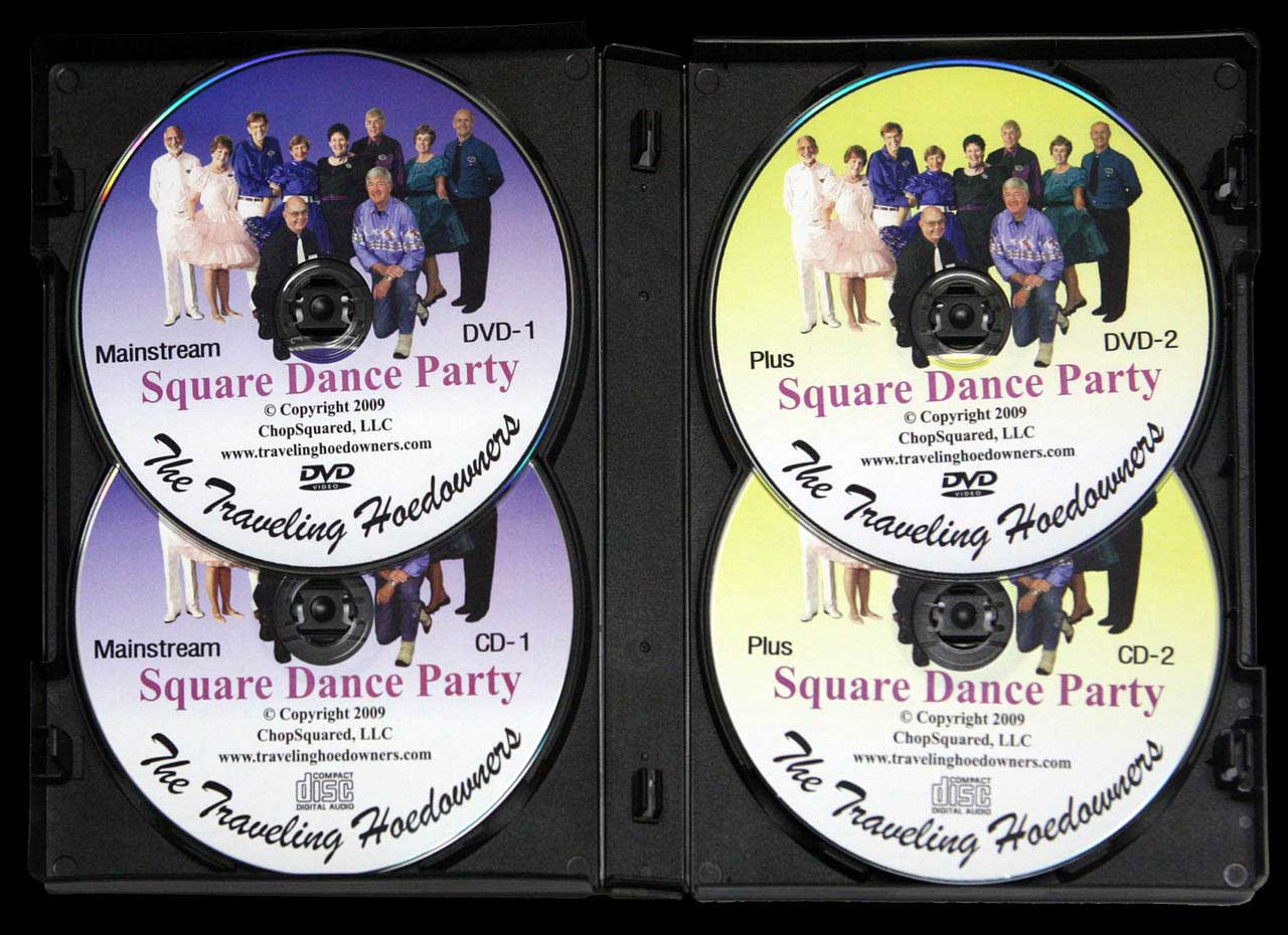 Dance Party 2-DVD/2-CD Interior