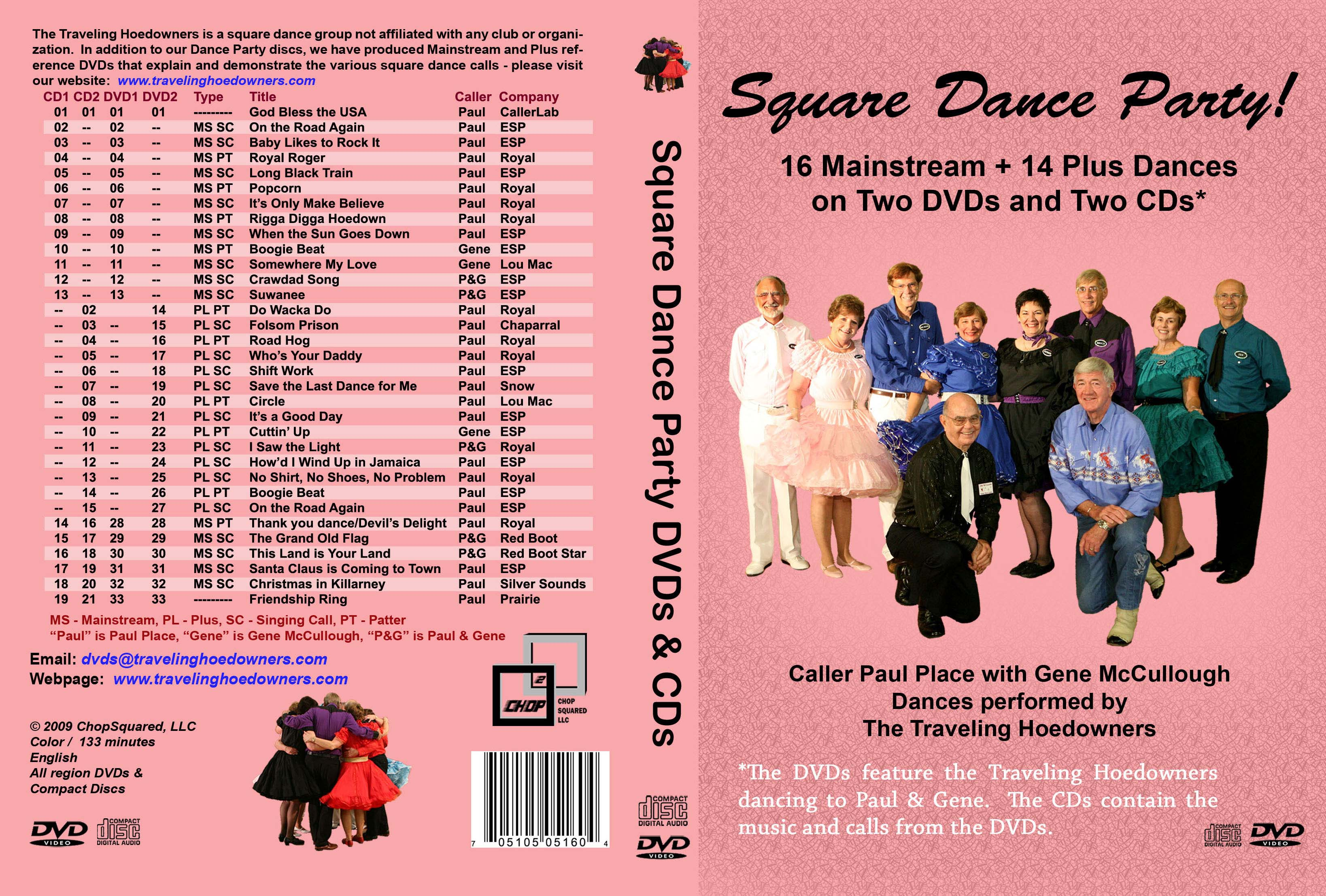 Dance Party 2-DVD/2-CD Jacket
